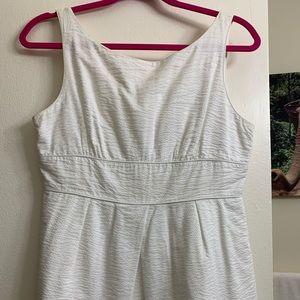 White cotton Jcrew sundress